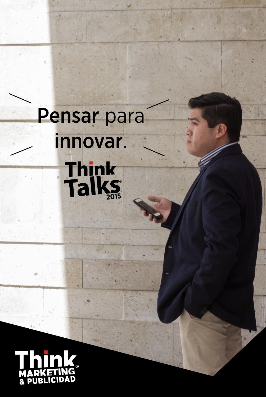 Think Talks Quote Pensar para innovar