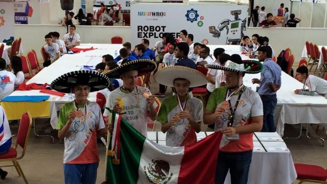 México robótica olimiada