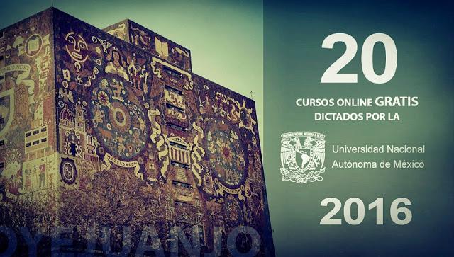 Aprovecha los 20 cursos online gratuitos que ofrece la UNAM.