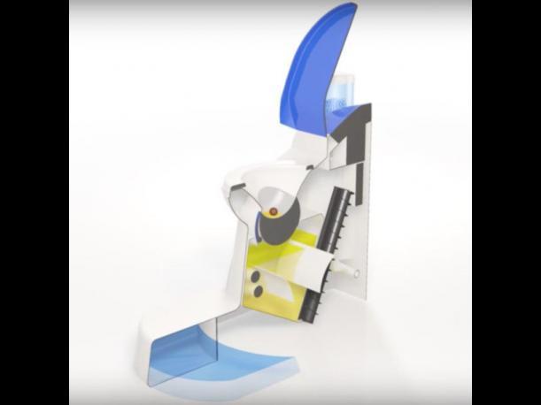 Cranfield Nano Membrane Toilet