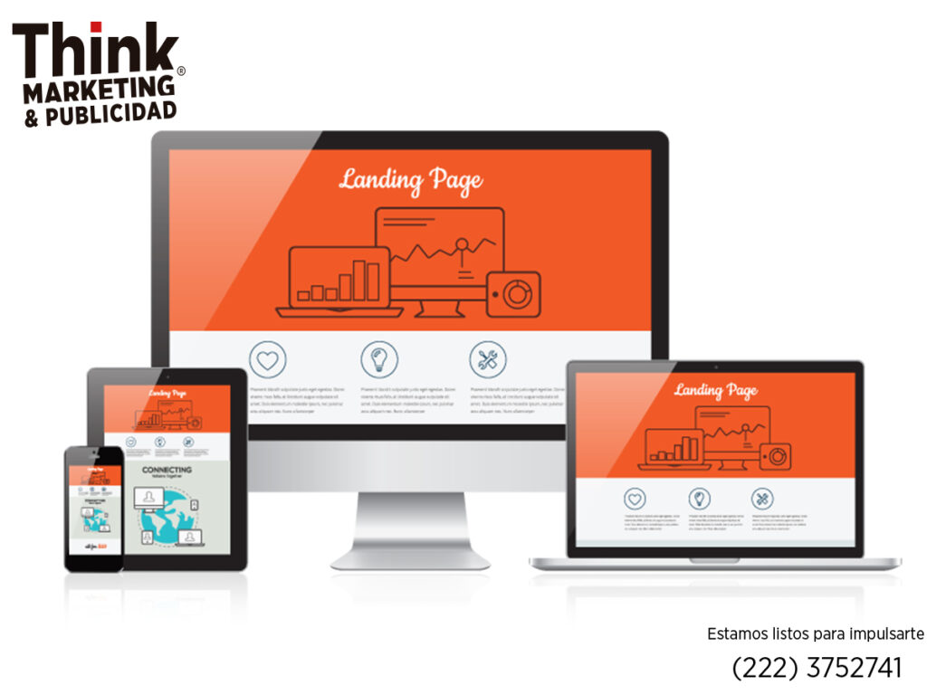 landing pages thinkp diseno web