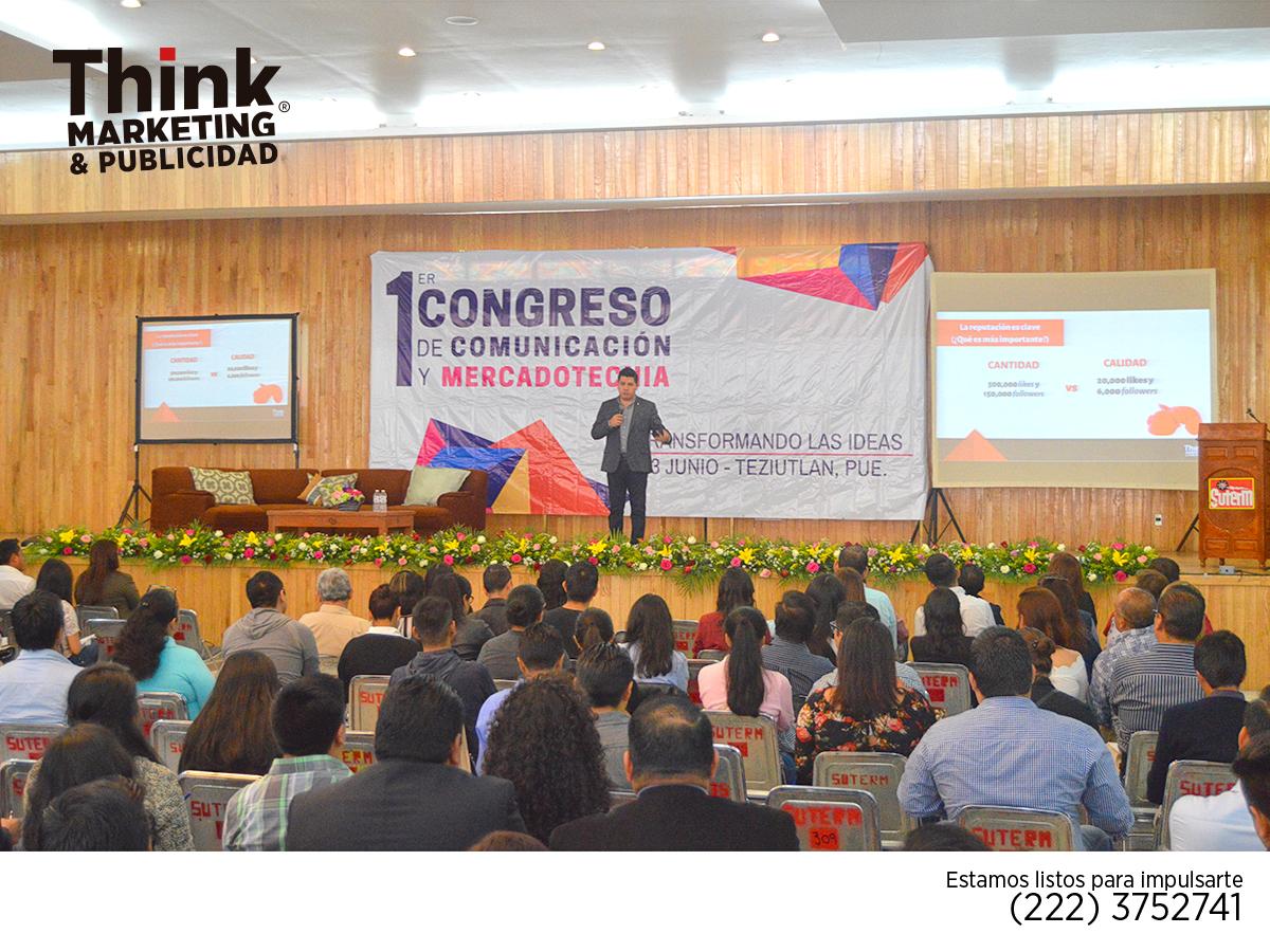 Congreso de Comunicación y Mercadotecnia Think Marketing y Publicidad