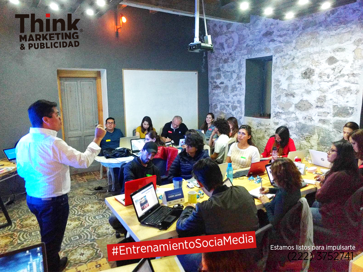 Entrrenamiento Social Media ThinkMP Agencia de Marketing Digital
