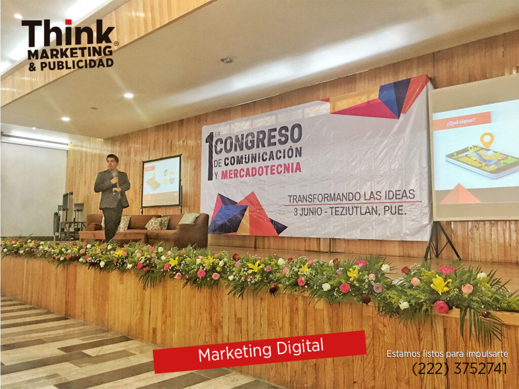 Plática de Marketing Digital ThinkMP Puebla
