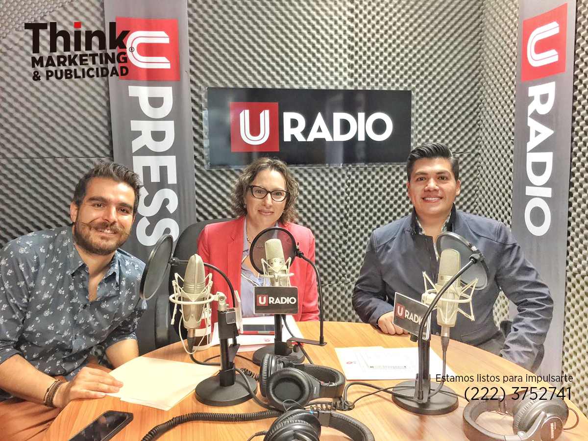 El Núcleo, Radio UPAEP. Think Marketing y Publicidad. Agencia de Marketing Digital